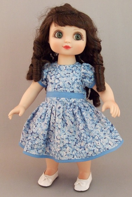 Magic 10 doll dress pattern
